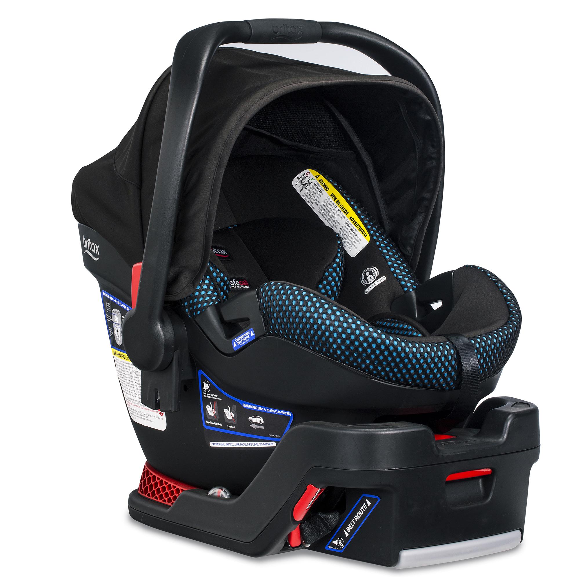 Britax B‑Safe Ultra Cool Flow Infant Car Seat, Teal