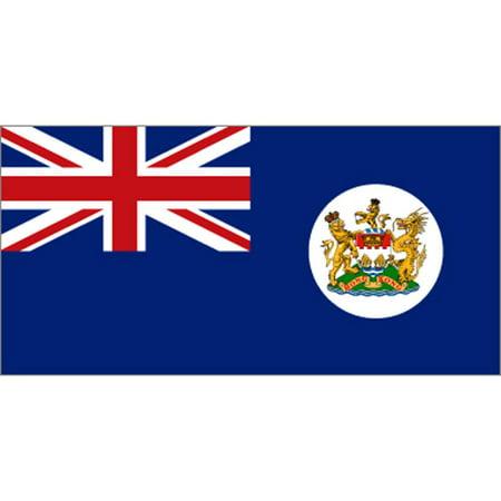 British Standard Flag - Hong Kong British Flag with Grommets 3ft x 5ft