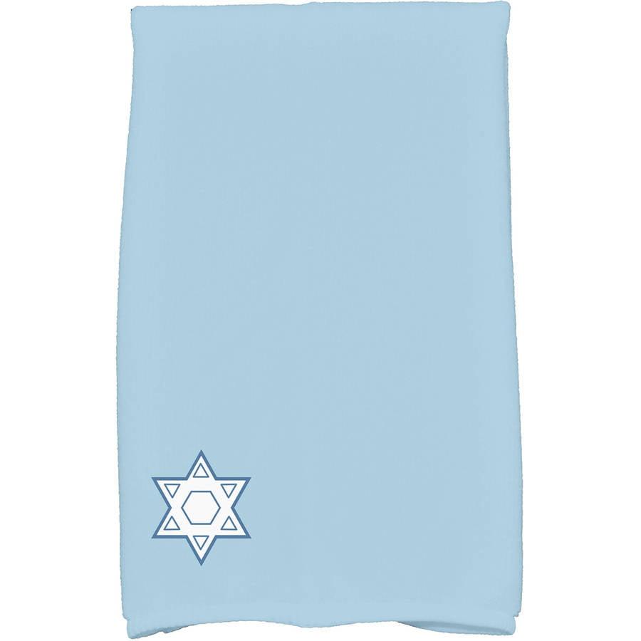 Star's Corner Geometric Print Kitchen Towel by E By Design