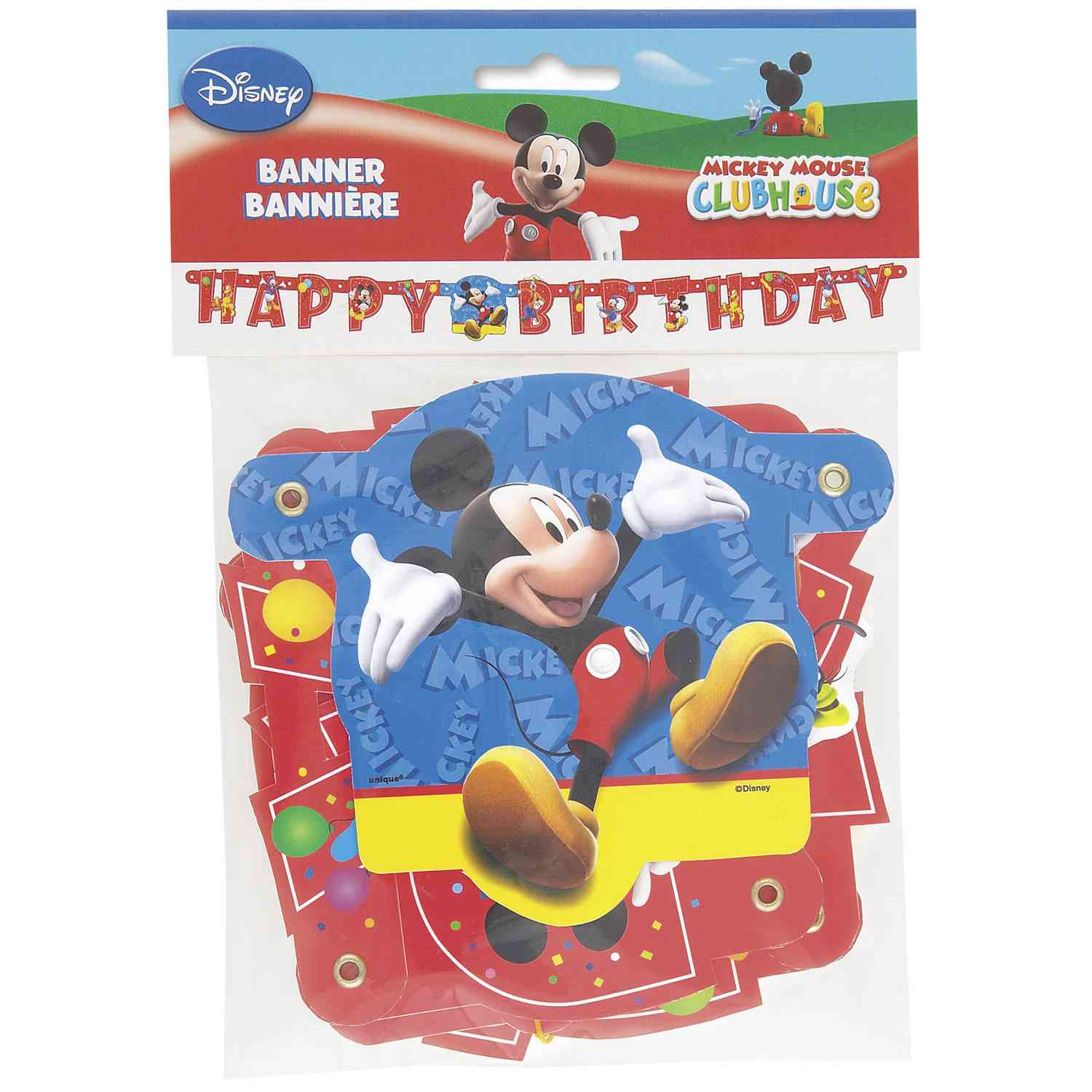 Mickey Mouse Clubhouse Large Jointed Banner
