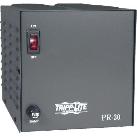 Tripp Lite - PR30 - Tripp Lite DC Power Supply 20A 120VAC to 13.8VDC AC to DC Conversion TAA GSA - 120 V AC Input