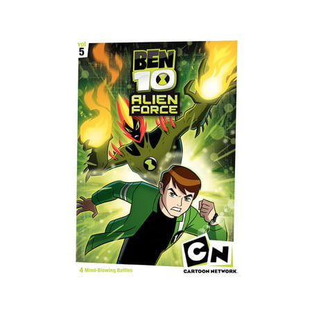 Ben 10 Alien Force: Season 1, Volume 5 (DVD) Ben 10 Alien Force