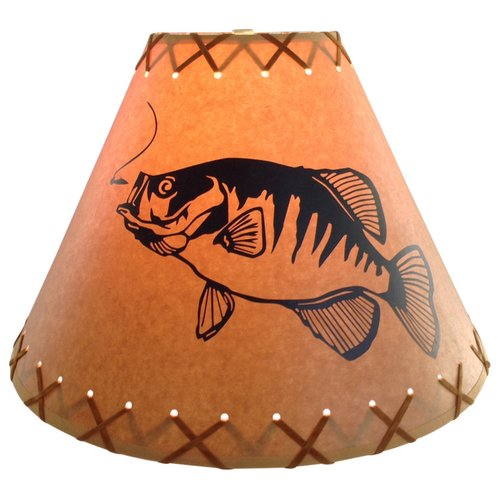 Millwood Pines Crappie 9'' Paper Empire Lamp Shade