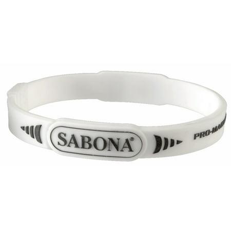 Sabona Sport Wristband Pro Magnetic White-S/M (Best Health Wristbands 2019)