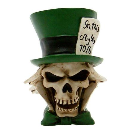 Mad Hatter Skull Custom Shift Knob and Topper sbc parts sportsman streetrod