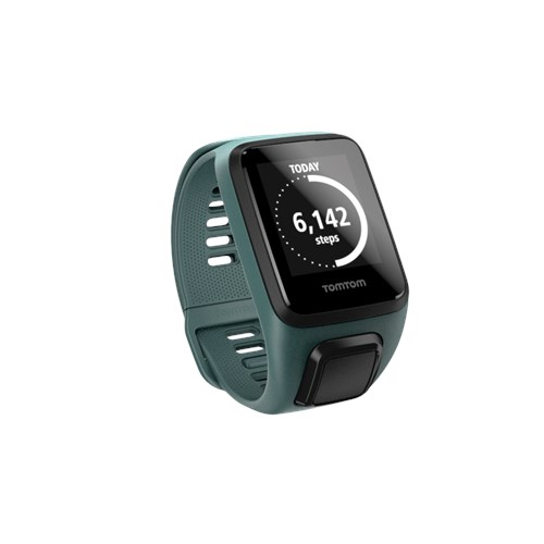 TomTom Spark 3 GPS Fitness Watch, Small, Aqua by Tom