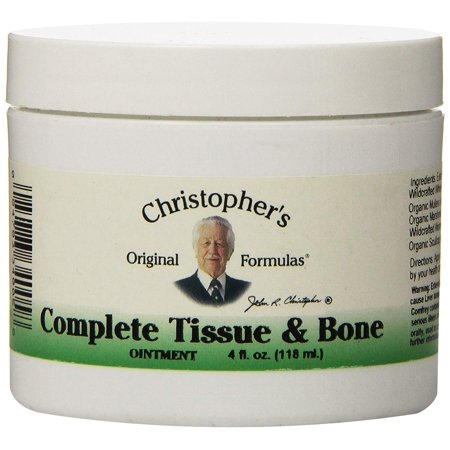 Dr Christopher's Formula Complete Tissue and Bone Ointment, 4 Ounce - 4.0 ounces