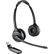 Plantronics Savi W420-M USB Wireless Binaural Headset System for Microsoft