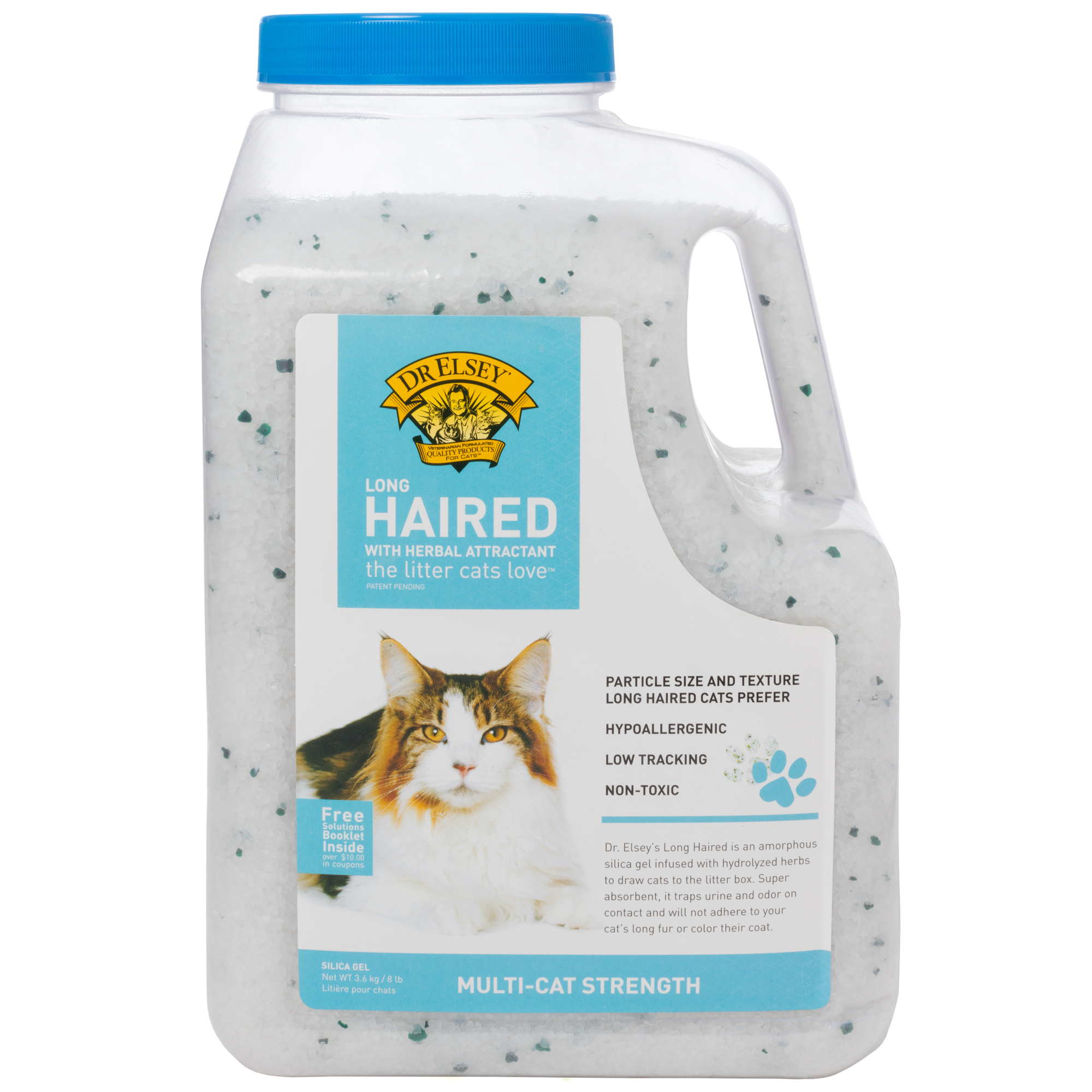 Precious Cat Long Haired Cat Litter, 8.2 Lb.