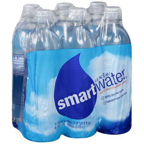 Glaceau Smart Water Electrolyte Enhanced Water, 120 oz