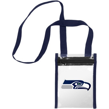 Seattle Seahawks Nfl Clear Crossbody Tote Bag