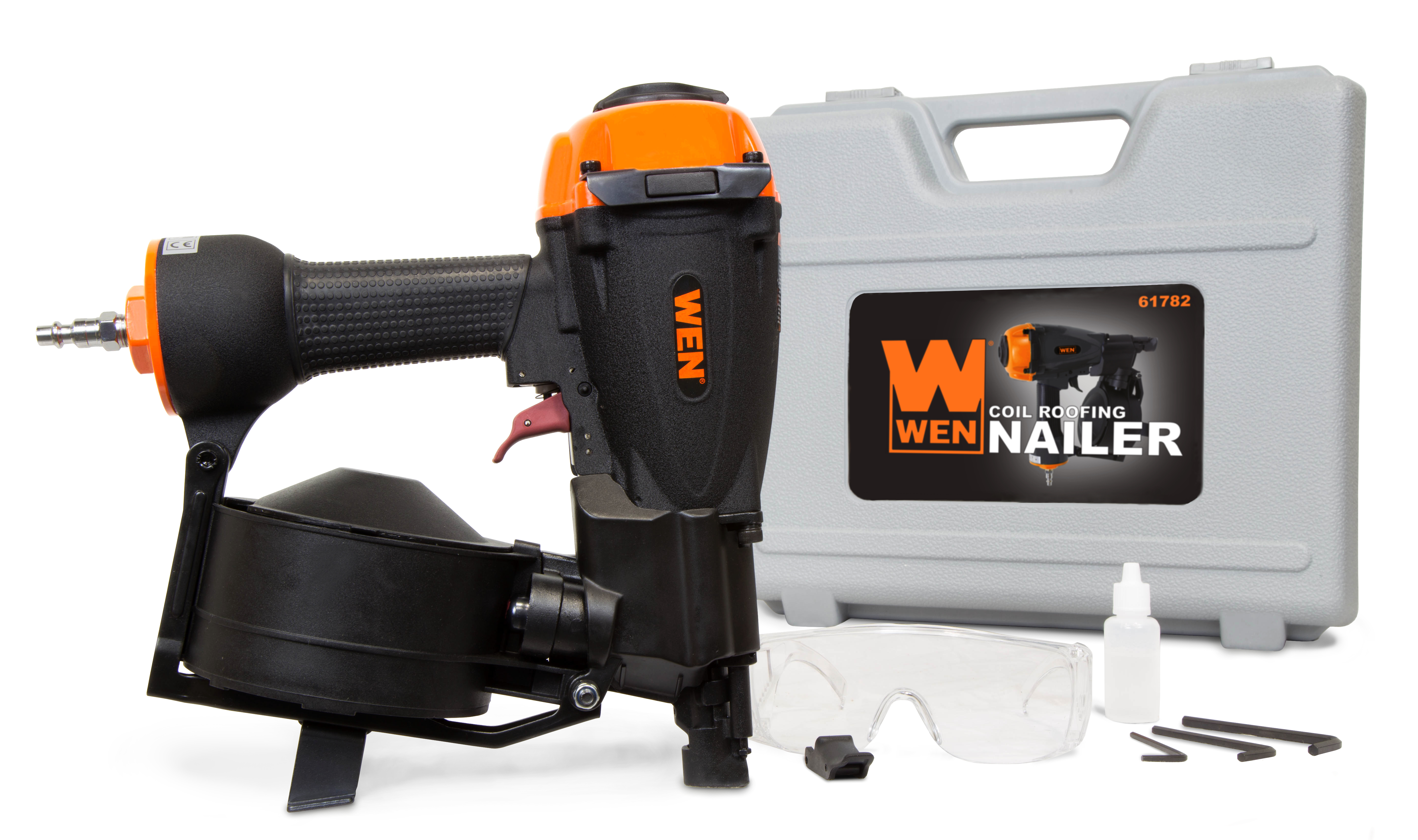 "Wen 7 8"" to 1-3 4"" Coil Roofing Nailer by WEN"