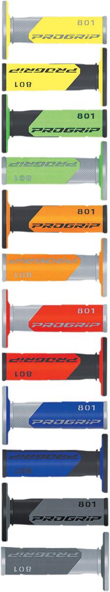Pro Grip 801BLK//RED 801 Hybrid Duo-Density Cross Grips Black//Red
