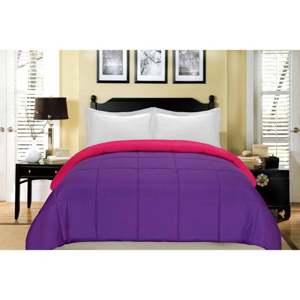South Bay Reversible Down Alternative Comforter - Full/Queen