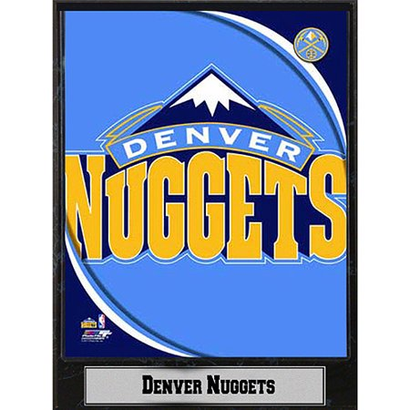 NBA Denver Nuggets Photo Plaque, 9x12 by