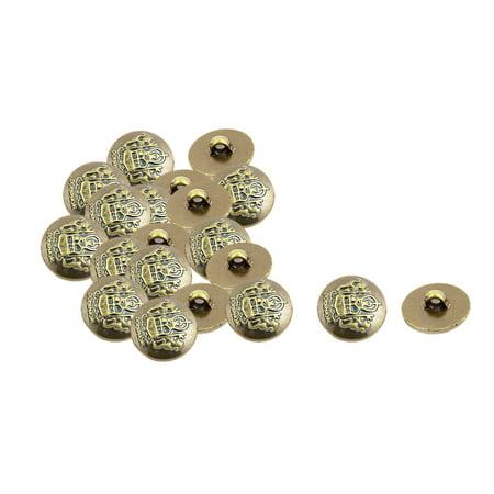 20 Pcs Plastic Crown Pattern DIY Decor Clothes Buttons - Diy Paper Crown