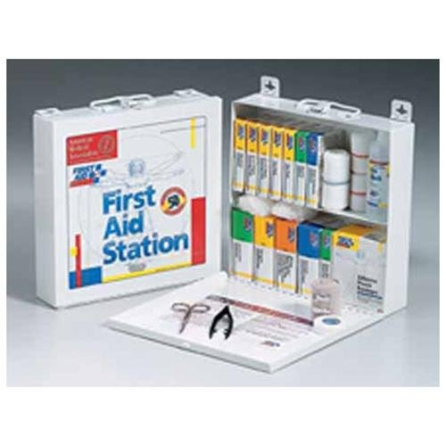 "First Aid Only 196-piece Worksite First Aid Kit 196 X Piece[s] For 50 X Individual[s] 10.8"" X 11"" X 2.3"" Plastic Case (226u) by First Aid Only Inc"