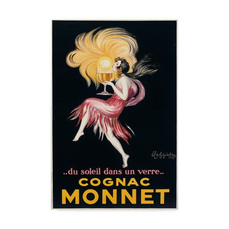 Cognac Fins - Trademark Fine Art 'Cognac Monnet, 1927' Canvas Art by Leonetto Cappiello