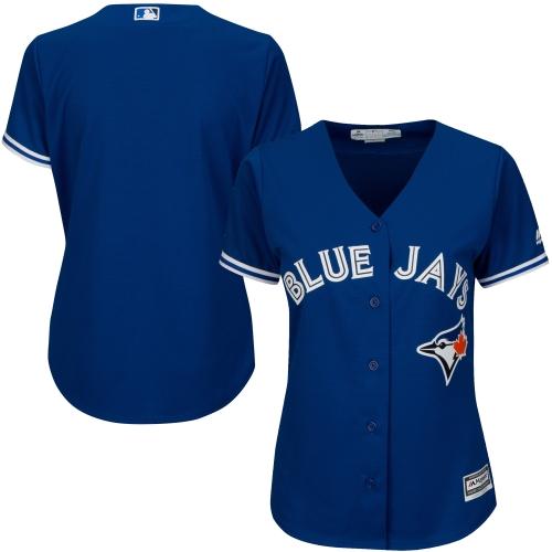 Toronto Blue Jays Majestic Women's Cool Base Jersey Royal by MAJESTIC LSG