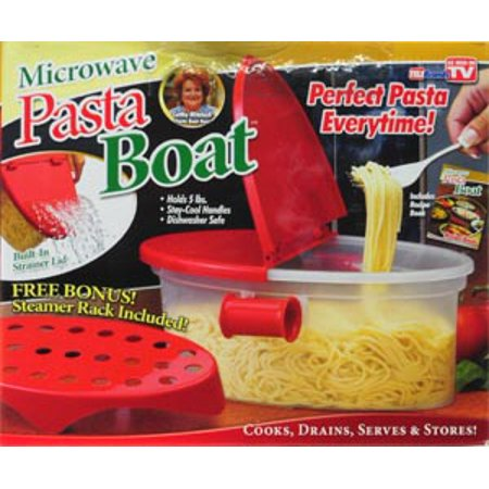 Microwave Pasta Boat Cooker