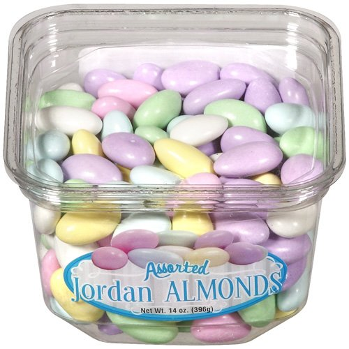 Nassau Candy Assorted Jordan Almonds, 14 oz