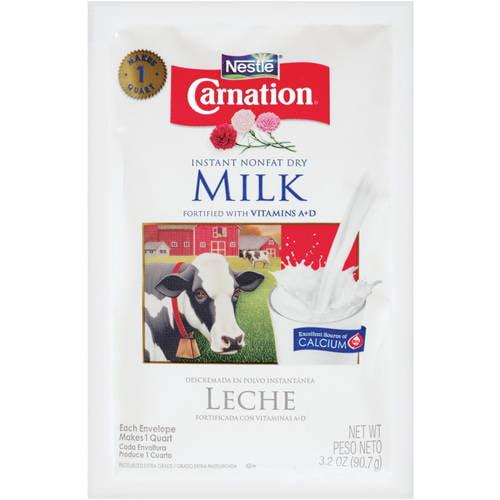 Carnation Instant Nonfat Dry Milk 3.2 oz. Pouch