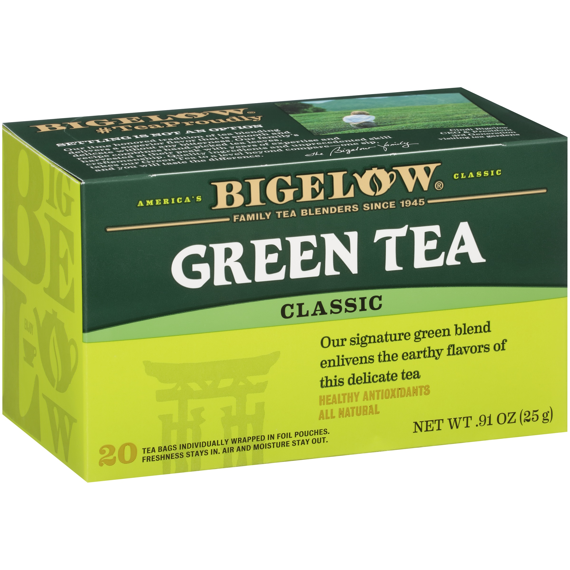 Bigelow® Classic Green Tea Bags 20 ct Box