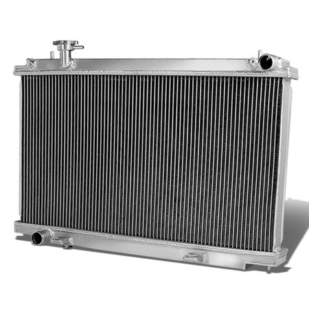 For 2003 to 2008 Infiniti G35 Full Aluminum 2 -Row Racing Radiator - Z33 350Z 04 05 06 (06 Nissan 350z Radiator)