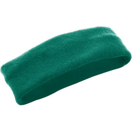 6745 Chill Fleece/headband/earband DARK GREEN OS (Fleece Headbands)