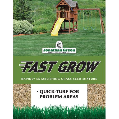 10820 Fast Grow Grass Seed Mix, 3 Pounds, Ideal for use in sun and shade areas By Jonathan (Type Of Grass That Grows In Shade)