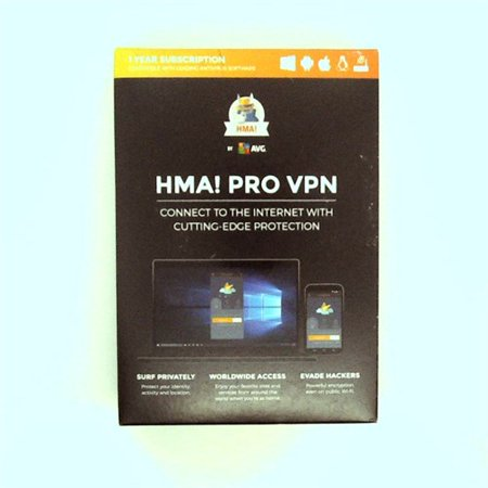 AVG HMA! PRO VPN 1 Year Subscription