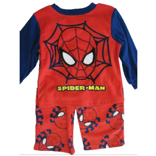 Spiderman Little Boys Red Logo Graphic Printed 2 Pc Pajama Set 3T