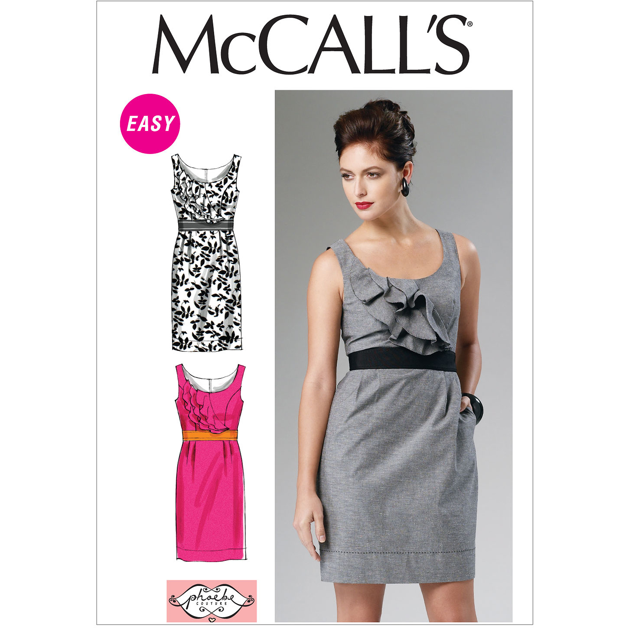McCall's Pattern Misses' Unlined Jacket, Top, Dress, Skirt and Pants, E5 (14, 16, 18, 20, 22)