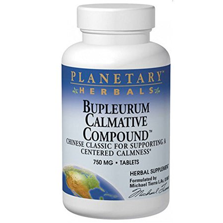 PLANETARY HERBALS Bupleurum Calmative Compound, Chinese Classic for Supporting a Centered Calmness, 240 Count