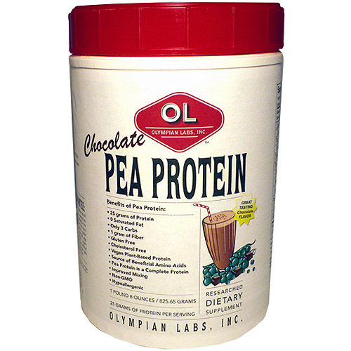 Olympian Labs Chocolate Pea Protein, 805 g