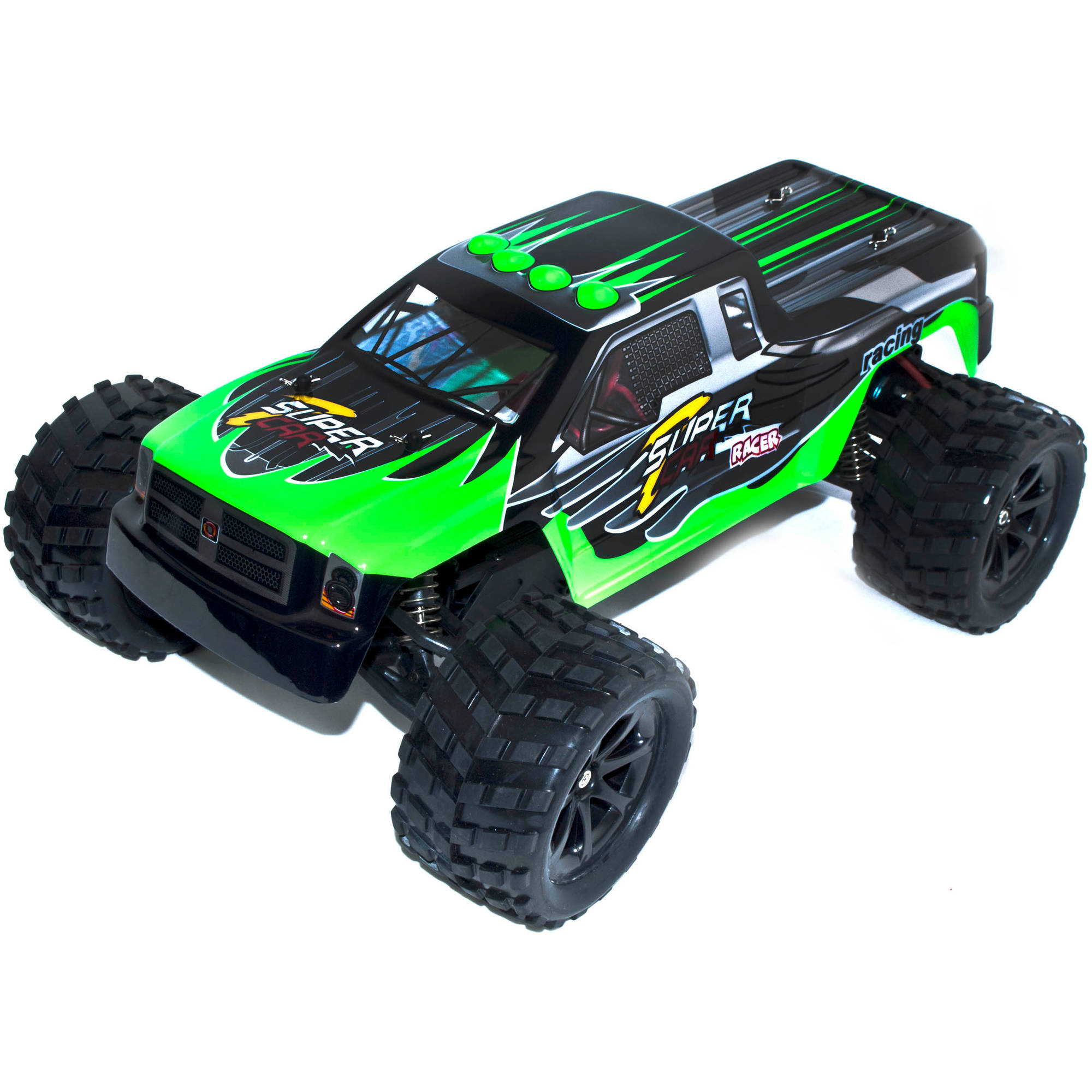 2.4G 1:12 Scale RCC66969GREEN Brushed Electric Powered Monster Truck