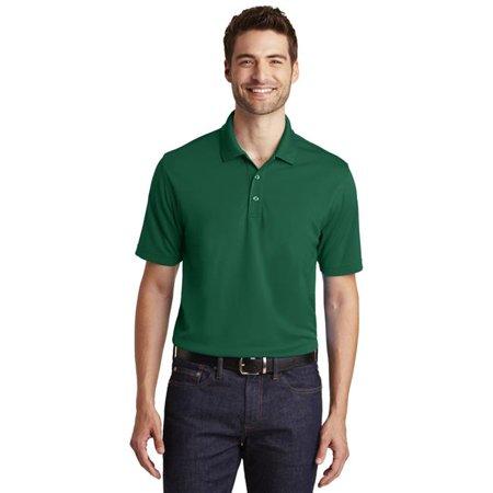 Port Authority 1236992 Dry Zone UV Micro-Mesh Polo Shirt, Deep Forest Green - Small