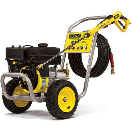 Champion 100385 3200-PSI 2.4-GPM Wheelbarrow-Style Gas Pressure Washer