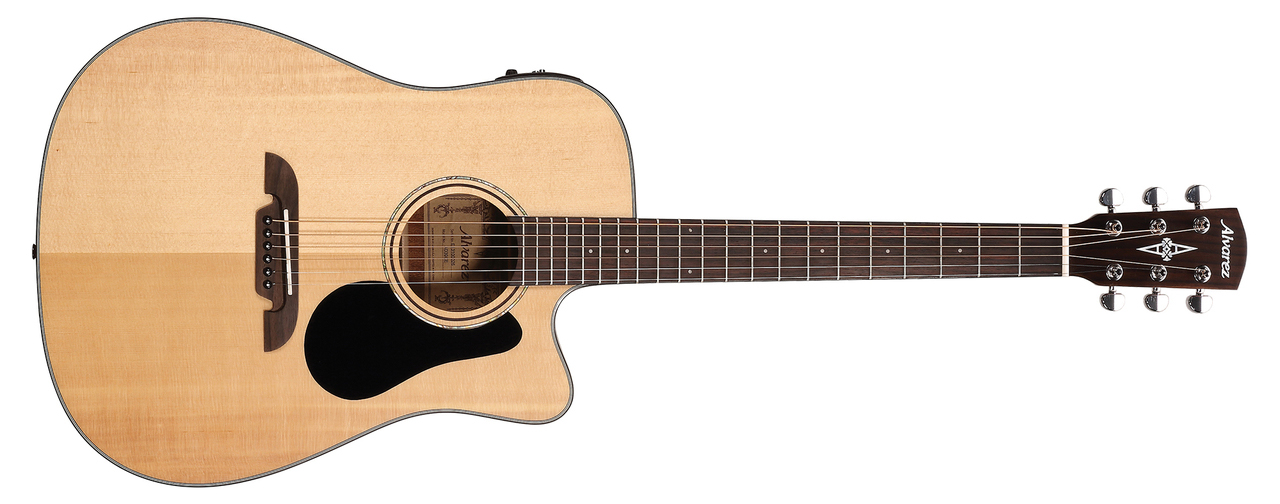 Alvarez AD30CE Acoustic Electric Guitar Natural Finish by