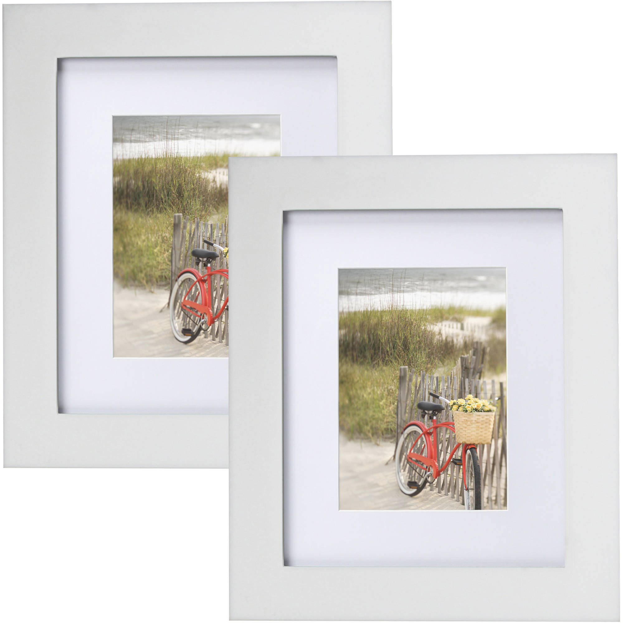 8 by 10-Inch 755880 Gallery Collection Lawrence Frames White Wood Picture Frame