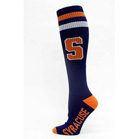 Ncaa Licensed Syracuse Blue Long Tube Socks