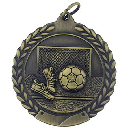 Soccer Award Single and Bulk Medals