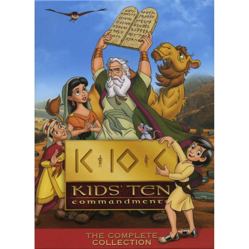 Kids' Ten Commandments: The Complete Collection (Full Frame)
