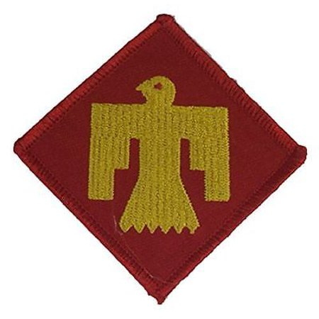 - US ARMY 45TH INFANTRY DIVISION PATCH OKLAHOMA NATIONAL GUARD THUNDERBIRD VETERAN