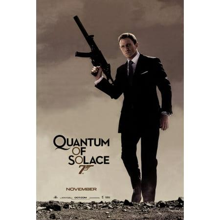 Quantum Of Solace Movie Poster  11 X 17