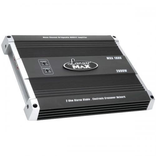 LANZAR MXA1600 MXA Series 2000-Watt Monoblock MOSFET Power Amp