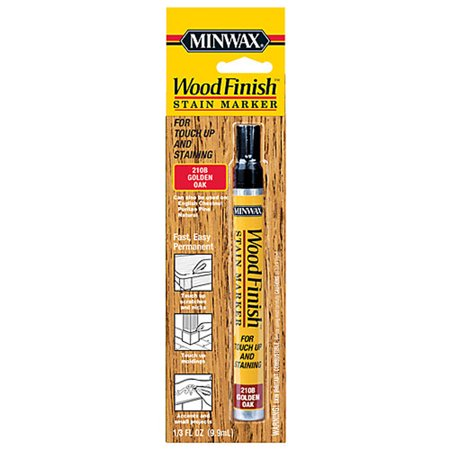 Minwax Wood Finish Stain Marker, 1/3 oz, Golden Oak
