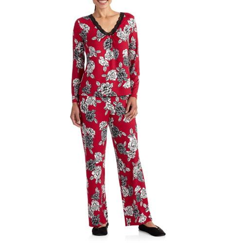 George Women's 2 Piece Poly/Span Sleepwear Set