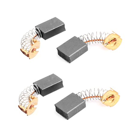 4 Pcs Replacement Electric Motor Carbon Brushes 17mm X