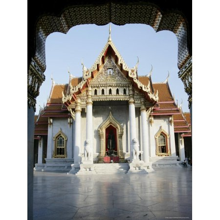 Wat Benchamabophit (Marble Temple), Bangkok, Thailand, Southeast Asia Print Wall Art By Angelo Cavalli (Marble Temple)